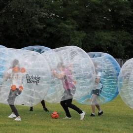 Bubble Bump : du foot, des bulles… du foot dans des bulles !